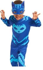 NEW Disney Junior PJ Masks Catboy Cat Boy Costume Halloween - Size 4-6X