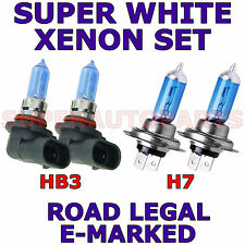 FITS  ALFA ROMEO 166 1998-ON     SET  H7   HB3  XENON SUPER WHITE LIGHT BULBS