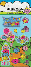 Official Little Miss - Party Pack Stickers ( 6 x Sheets )