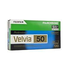 5x Fuji Vilvia 50 120 Fujifilm Rollfilm Mittelformatfilm Analogfilm Farbfilm