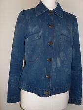 Jean bleu personnalisé teint veste h&m 10-12 s/m