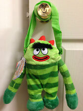 "YO Gabba Gabba BROBEE Plush Soft Shoulder Bag Small 12"" inches for Kids Licensed"
