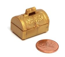 Playmobil Miniature Pirate Ship Castle Gold Treasure Chest