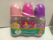 3-5oz Disney Princess Sleeping Beauty  bottles   New!