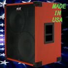 2X12 Bass Guitar Speaker Cabinet 700W RMS 4 Ohm Fire Red Tolex 440LIVE BG2X12HTW