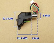1pcs 2-phase 4-wire 8MM Micro stepping motor For Digital cameras with gear box