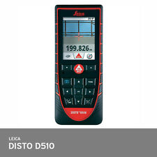 Leica Disto D510 Laser Distance Meter 200m IP65 Water/Dust Proof ISO 16331-1Pass