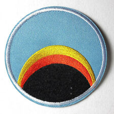 "Space:1999  Blue Sunrise/Rainbow Logo  3"" Uniform Patch- FREE S&H  (SPPA-1904)"
