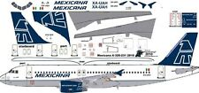 Mexicana Airbus A-320 decals for Revell 1/144 kit