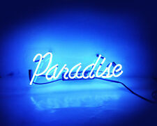 Paradise Ultra Home Decor LED NEON Light Sign Wall Lamp Room Beer Bar Display