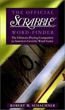 The Official Scrabble® Word-Finder by Robert W. Schachner (1998, Paperback)