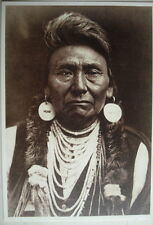 CPA EDWARD S. CURTIS - NEZ PERCE, CHIEF JOSEPH C.1900 Collection CU03 1993