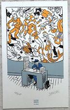 Stanislas Rare ex-Libris sérigraphié n et s Neuf