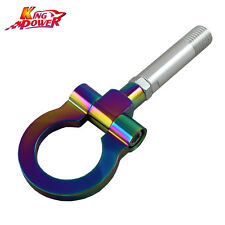 NEO CHROME T2 RACING ALUMINUM CNC TOWING HOOK FOR MAZDA 2 5 6 RX-8 SUZUKI SWIFT