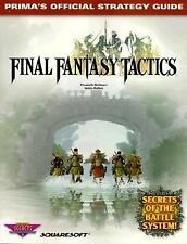 Final Fantasy Tactics Prima's Official Strategy Guide