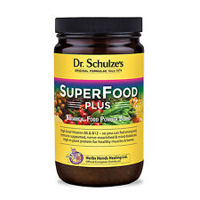Dr Schulze's Superfood Plus Powder - 400g - NEW Bigger Jar