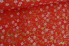 Traditional Japanese Chiyogami Washi Yuzen Paper (RE33) ~ Large Sheet 61 x 45cm