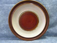 "Potter's Wheel Rust Red by Denby-Langley 8-1/4"" Salad Plate Rust Red Center"