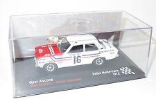 1/43 Opel Ascona  Radio Monte Carlo  Rallye Monte Carlo 1972   Jean Ragnotti