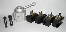 "Mini Quick Change Tool Post For 7""x10"", 12"", 14"" Lathe ""Extra Holders Available"""