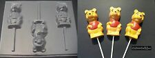 WINNIE THE POOH BEAR Large Chocolate Candy Soap Mold