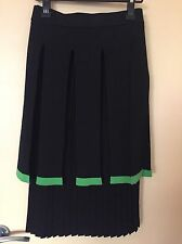 Tsumori Chisato Japanese Brand Pleated Wool Skirt Size 2 JP 10 AU Authentic
