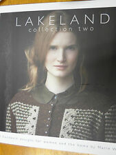 LAKELAND COLLECTION 2 by Marie Wallin Knitting Pattern book for Rowan yarns