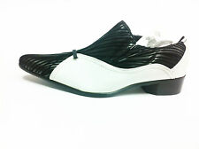 Childrens Boys White Slip On Formal Wedding Prom Page BoyKids Shoes for suits f2