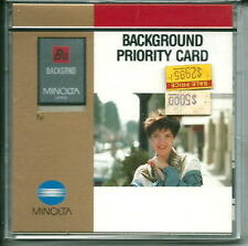 Minolta Background Priority Card for 7xi & 9xi cameras New in Sealed Box