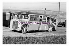 gw0023 - Barnsley Co-op Foden Bus DHE 557 at Depot in 1961 - photograph