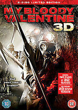 MY BLOODY VALENTINE 3D DVD FILM MOVIE CLASSIC FILM MOVIE HORROR NR FUN 3D 3D NR