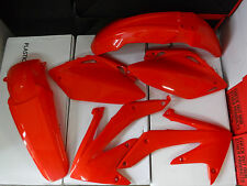 RACE TECH  HONDA PLASTIC KIT CRF450R CRF450 2005 2006 ORANGE/red