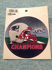 NFL New England Patriots Sticker Super Bowl XXXIX Champions Football Fan DECAL