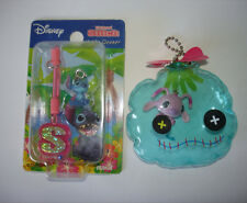 Disney Japan Lilo & Stitch Cell Phone Strap Dangle Mascot Angel Scrump Keychain