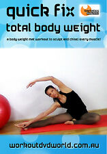 Barre Toning EXERCISE DVD - Barlates Body Blitz QUICK FIX TOTAL BODY WEIGHT!