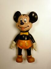 Mickey culotte orange figurine plastique TBE