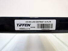"New Tiffen 4x5.65"" Low Contrast 1/4 Glass Filter Panavision Size Filters LowCon"