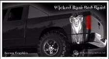 Wicked Dodge Ram truck bed band vinyl graphic striping set