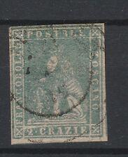 FRANCOBOLLI 1857 TOSCANA 2 CR. B/9532