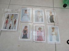15 Princess Diana 1997 Collectors Society Stamps + COA's TOGO Togolaise Gowns