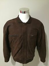 Vintage 1980/90's Christian Dior Le Connaisseur Leather Bomber Jacket Sz 40
