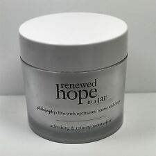 Philosophy Renewed Hope In A Jar Anti-Aging Face Cream 4 oz. No Box. New!