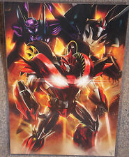 Transformers Knockout Glossy Print 11 x 17 In hard Plastic Sleeve