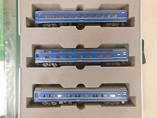 "N SCALE KATO 10-823 24 SERIES SLEEPING 3 CAR SET ""AKEBONO"""
