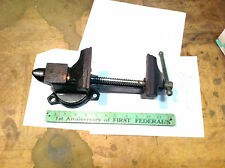 "VINTAGE OXWALL 3-1/2"" anvil / swivel base  BENCH VISE 4-3/4"" cap"
