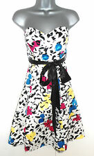 BNWT Stunning Jane Norman Floral Belted Evening Occasion Prom Dress 14