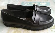 Clarks 'Cushion Soft' black leather shoes 5.5