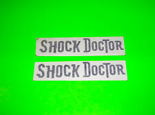 SHOCK DOCTOR MOUTHGUARDS CUPS TAPE COMPRESSION WRAPS INSOLES BLACK STICKERS