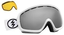 NEW Electric EGB2s White Silver Mirror ski snowboard goggles +Lens 2014 Msrp$100