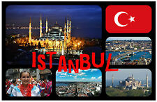 ISTANBUL, TURKEY - SOUVENIR NOVELTY FRIDGE MAGNET - NEW - GIFT / XMAS